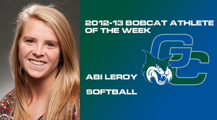 LeRoy Named Bobcat Athlete of the Week