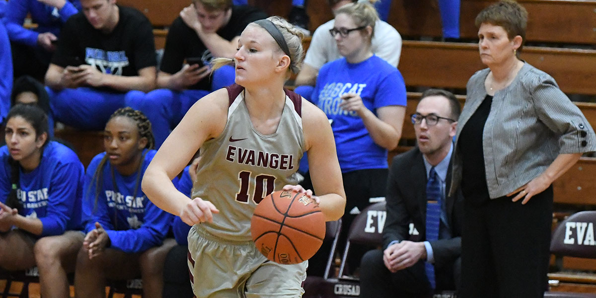 Evangel Women Upset No. 12 Central Methodist 89-84