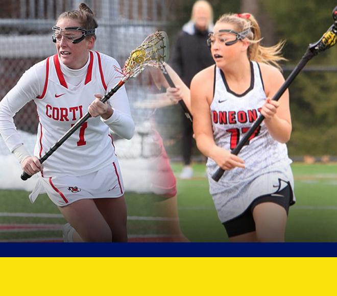 Last Women's Lacrosse Athletes of the Week announced for 2018 season