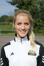 Mary Katherine Kulp now ranks 7th in UMBC history in the 1000m