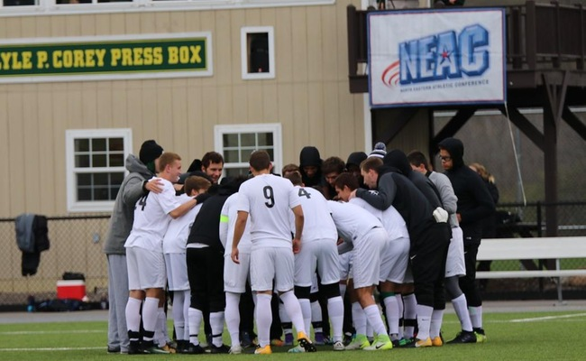 Men's Soccer Season Ends in Shootout