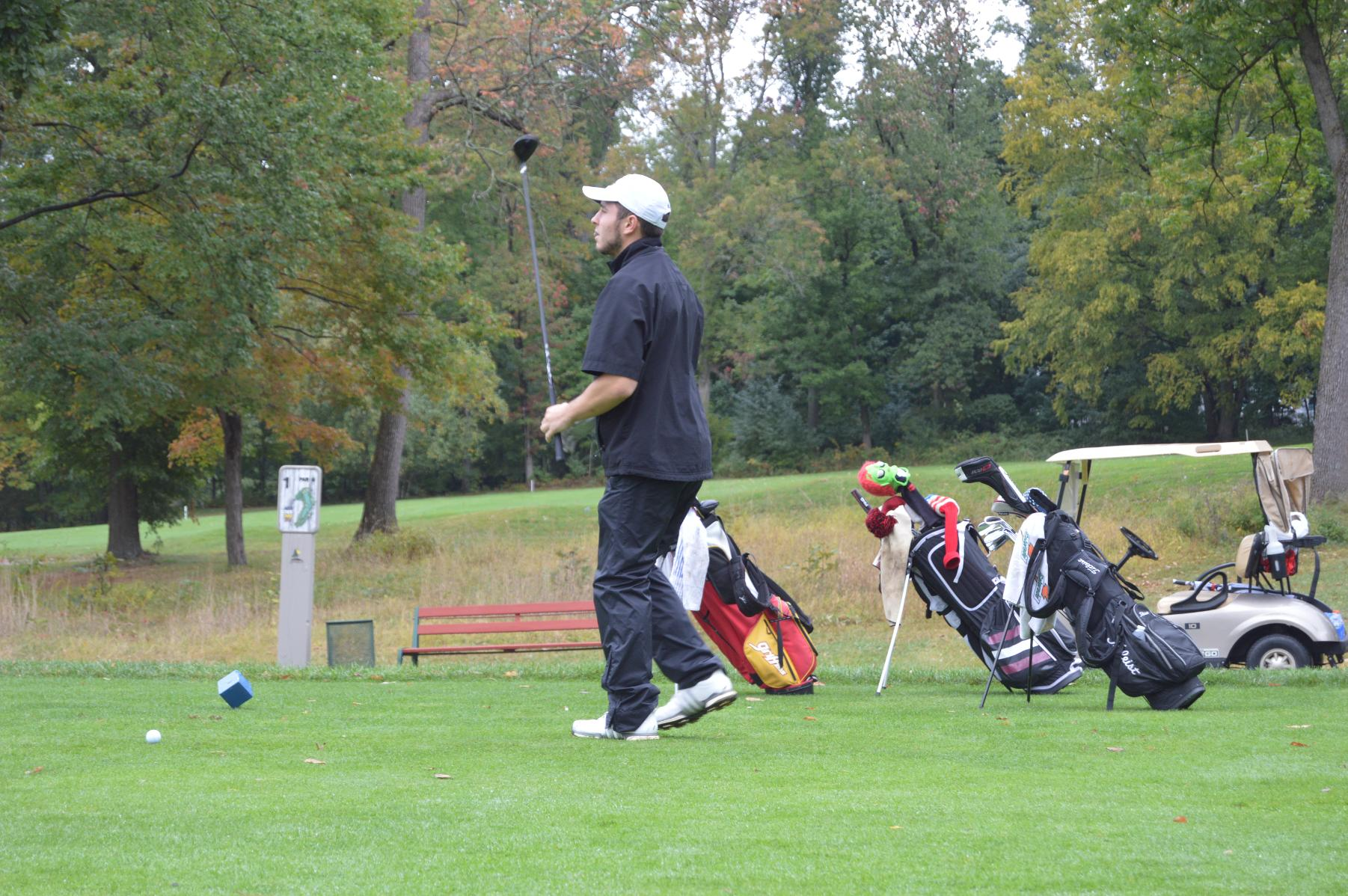 GOLF WINS PHILADELPHIA UNIVERSITY TRI-MATCH