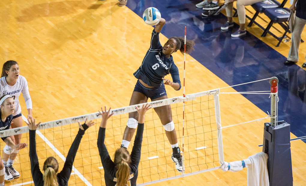 Emory Volleyball Swept At Berry