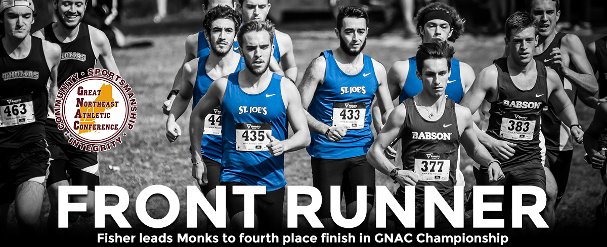 Men Finish Fourth, Women Place Sixth in GNAC Cross Country Championships