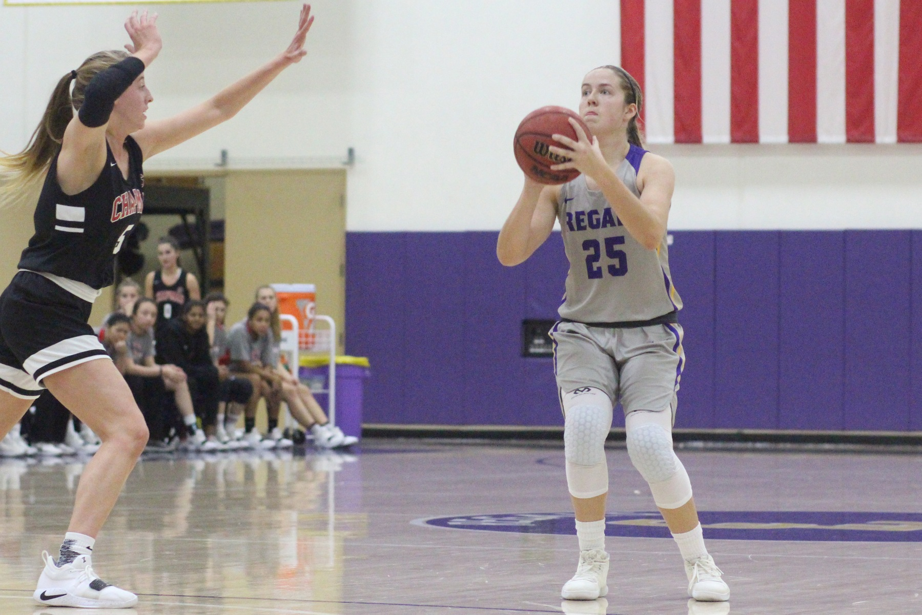 Regals Stun Chapman 58-55 to Take Top Spot in SCIAC