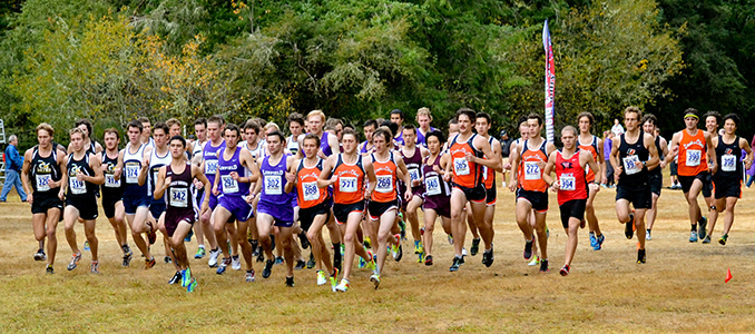 Men's Cross Country Finishes Fourth, Women Sixth in NWC Championship