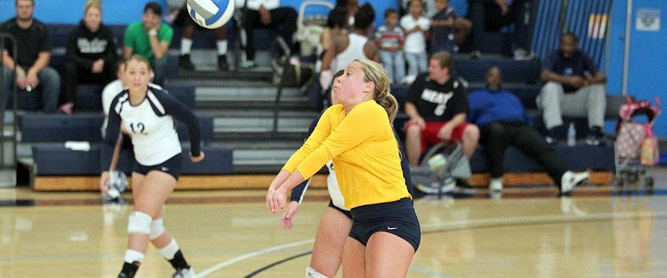 Marshall Sets Digs Record in Pair of Volleyball Wins