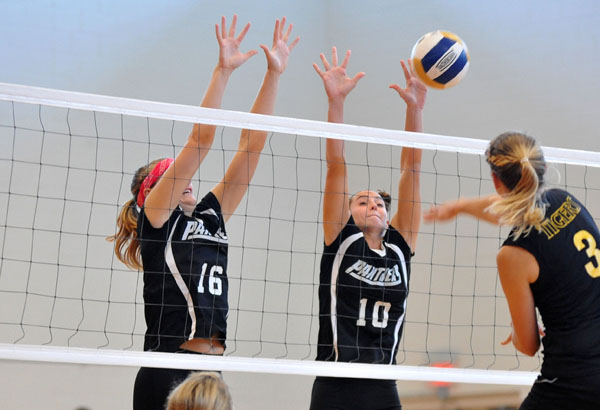 Volleyball: Panthers finish 1-2 at Trinity Tournament