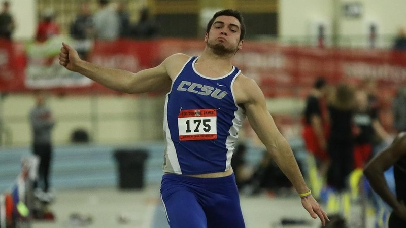 Latham Sits in First After Day One at SCSU's Decathlon, Trainor, Raymond Run at Mt. Sac