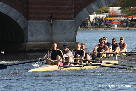 Crew Posts Pair Of Top Five Finishes In Competition At Clark Regatta