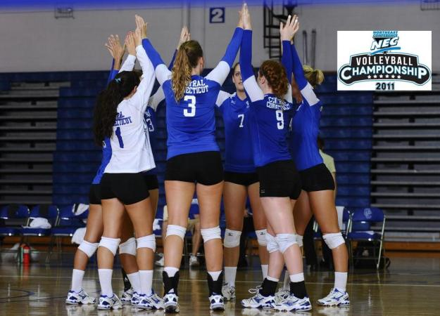 Volleyball Draws SHU in Semifinals