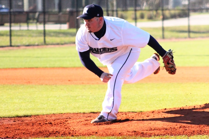 Pica, Raiders outduel Owls in Home Opener