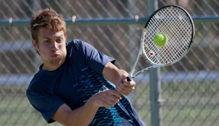Men's Tennis Blanks Edgewood in Home Finale