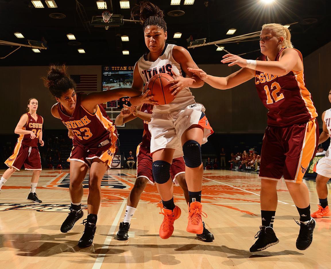 Women's Basketball vs. Cal St. Dominguez Hills (Nov. 1, 2013); CSF 45, CSUDH 43 - Cal State ...