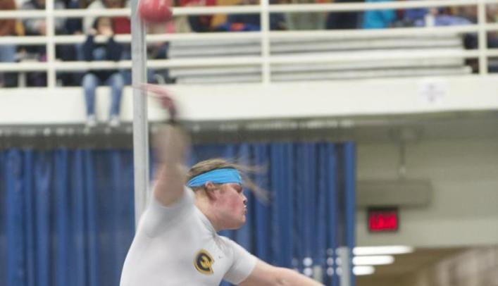 Men's Indoor Track & Field Finishes Fourth at Eastbay Invite