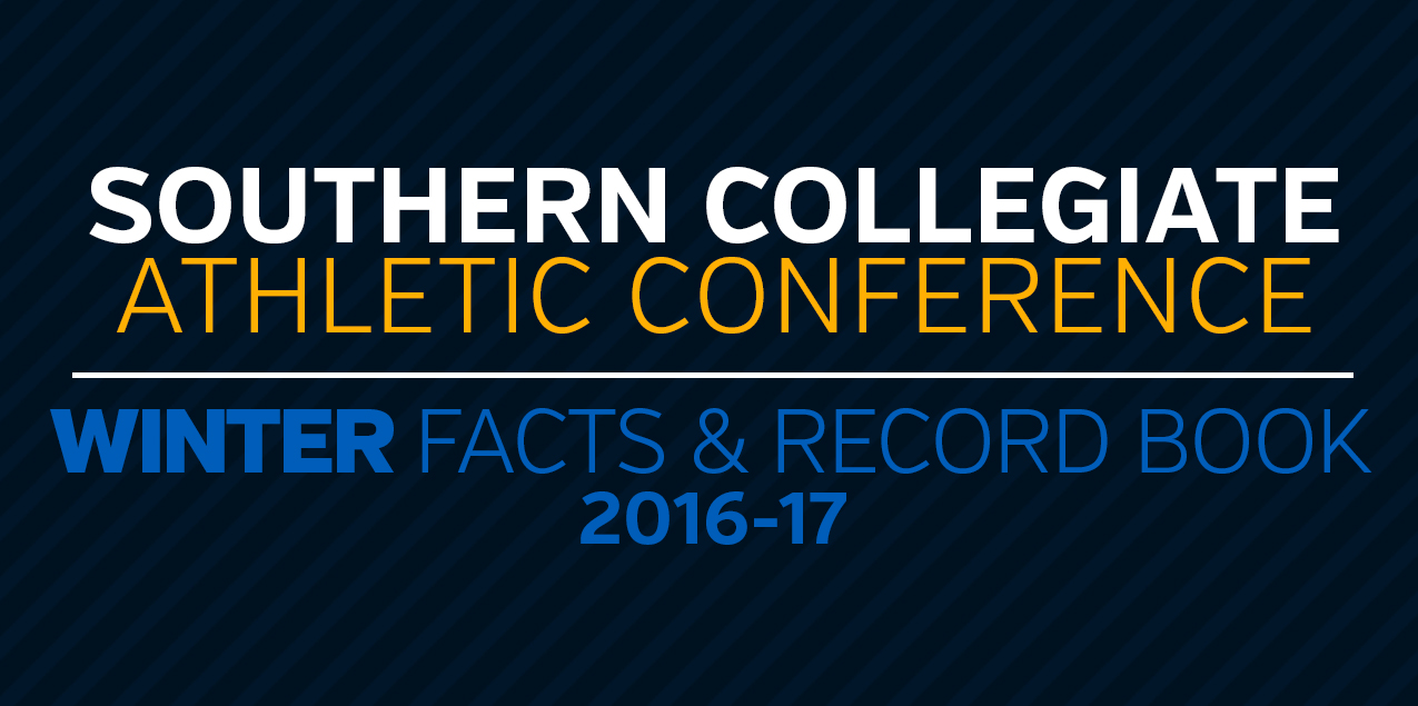 2016-17 SCAC Winter Record Book