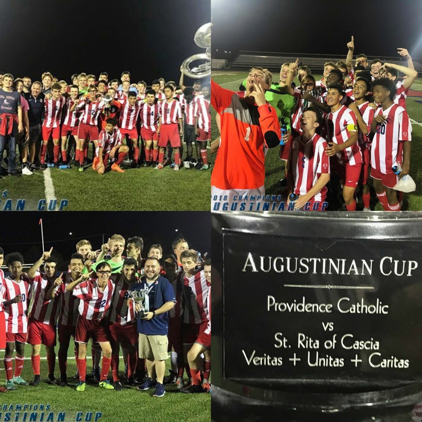 Congrats to the St. Rita Kicking Mustangs winning the Augustinian Cup in a thriller!