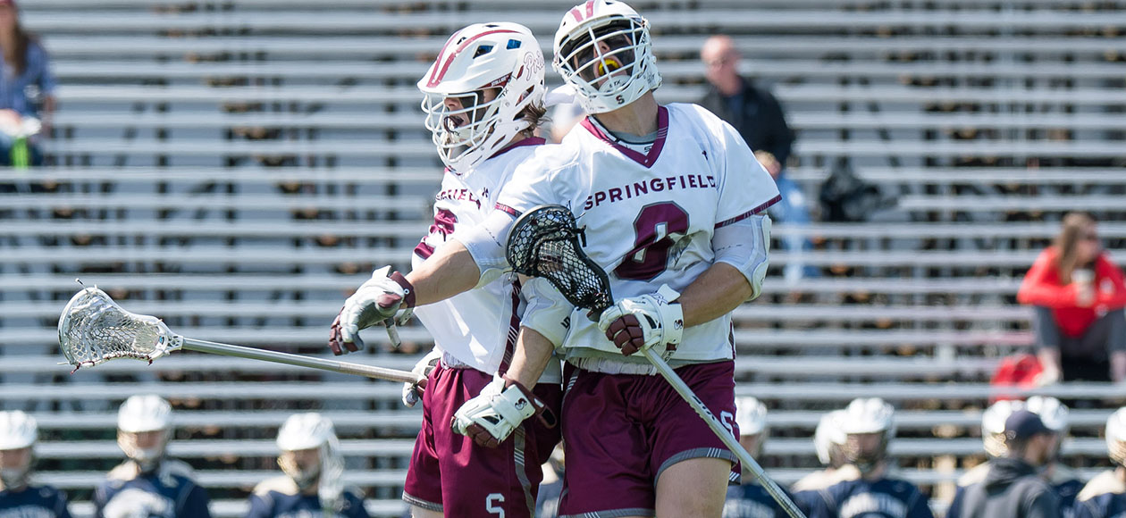 Men's Lacrosse Upends Massachusetts Maritime, 19-4, in NEWMAC Play