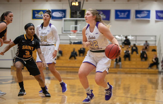 Women's Basketball Drops NE10 Matchup Against Regionally-Ranked New Haven