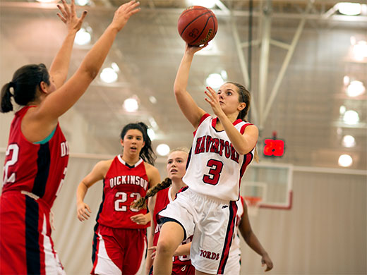Stellar defensive effort propels Fords past Muhlenberg, 55-41