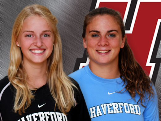 Centennial champions Boyer, Chernow tabbed for weekly honors
