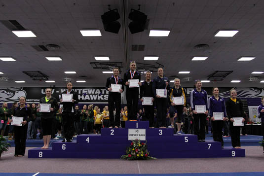 Gymnastics finishes sixth at NCGA; Warren named All-American