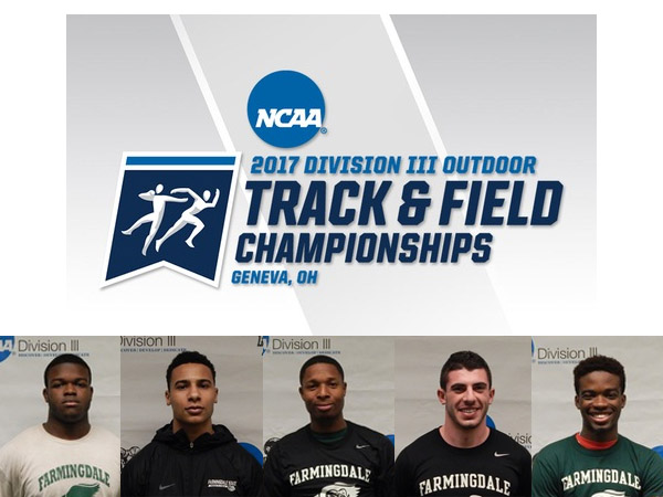 Men's Outdoor Track & Field Has Three Entries In NCAA Division III Championships