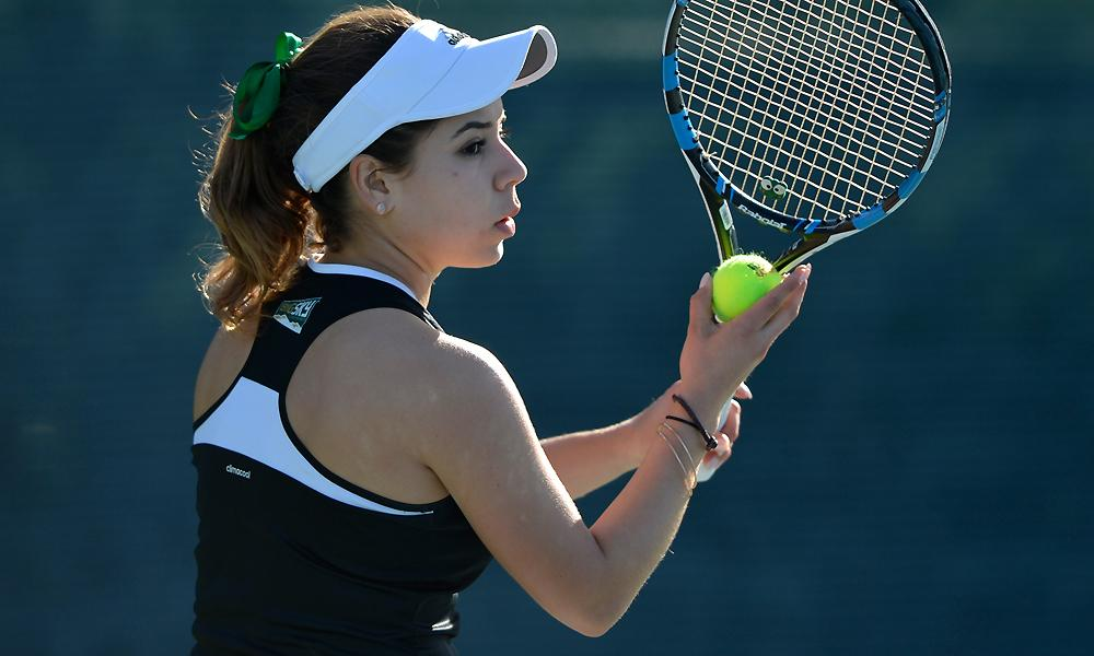 WOMEN'S TENNIS DROPS HOME OPENER TO NEVADA, 4-3