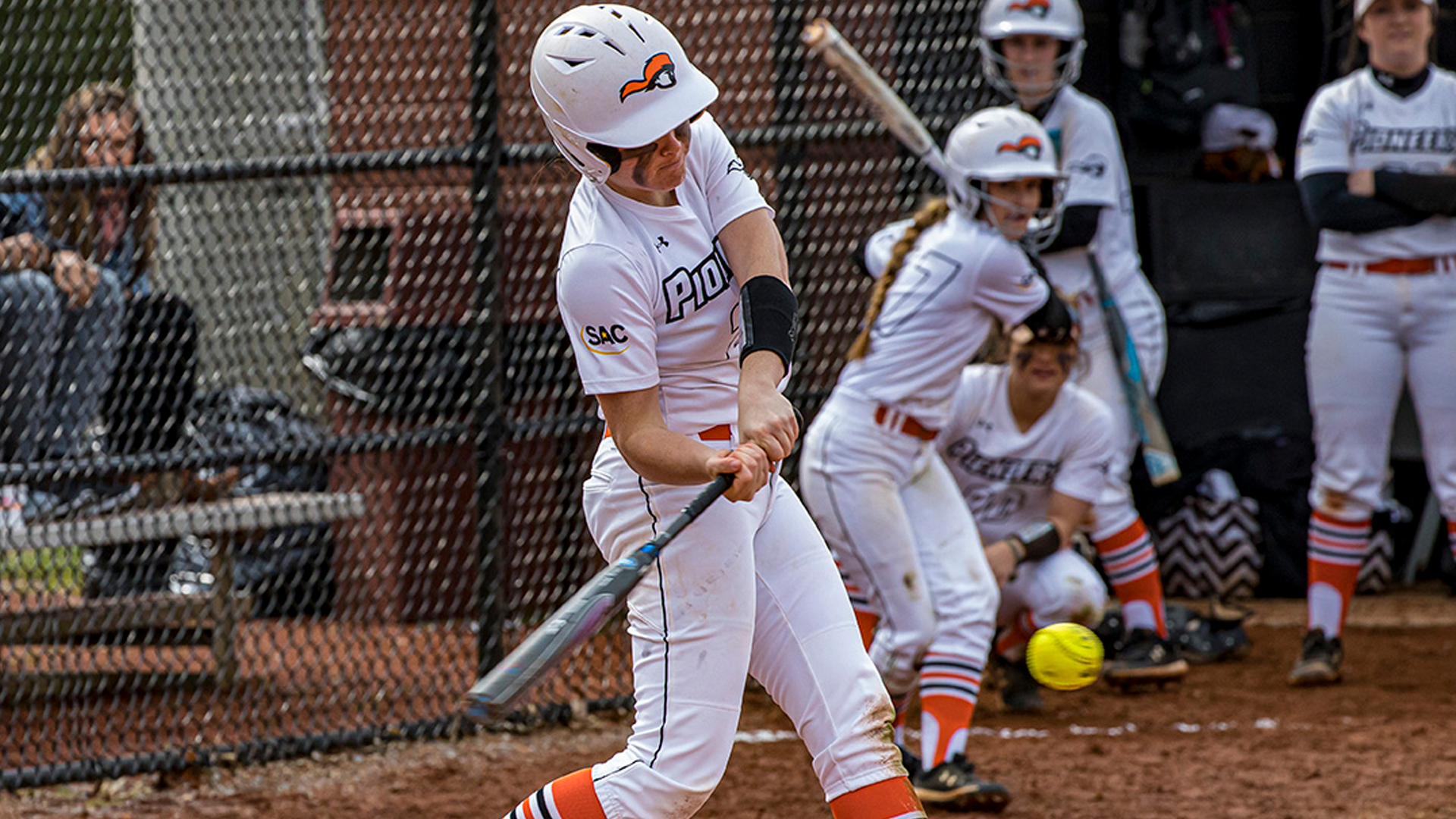 Homers Abundant as Softball Divides Series with UVa-Wise