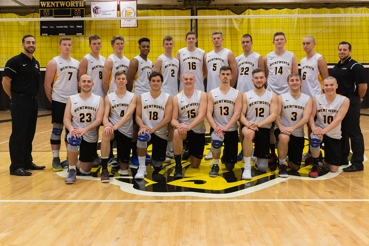 Men's Volleyball Falls to Rivier in GNAC Title Match
