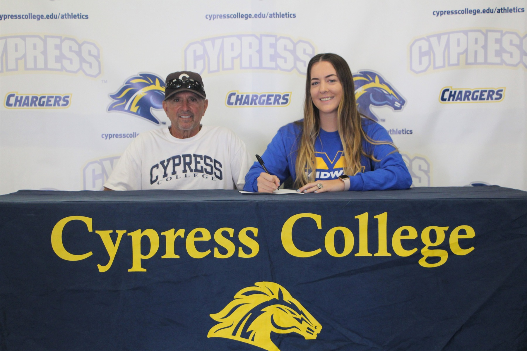 Cypress Softball's Kellee Ross Accepts Scholarship Offer from Midway University