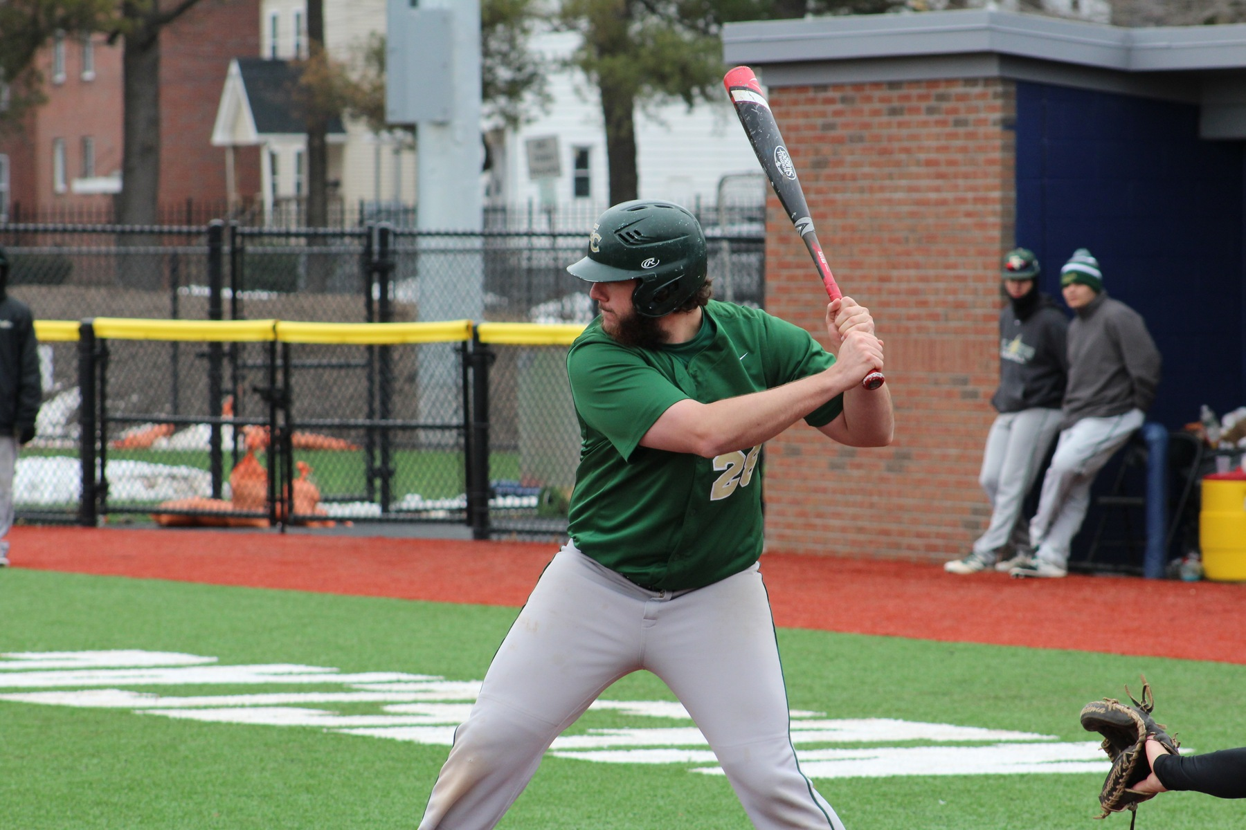 Platner Drives Baseball Past MCLA