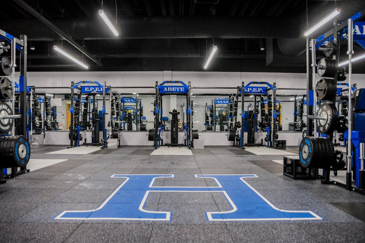 Hillsdale College Locker Room