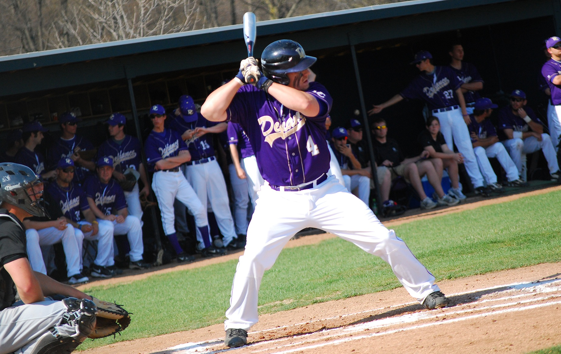 Pitro Ties DC's All-Time Hit Mark in Loss to No. 3 Heidelberg