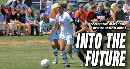 Golden Eagle soccer squad edged by future OVC foe Belmont