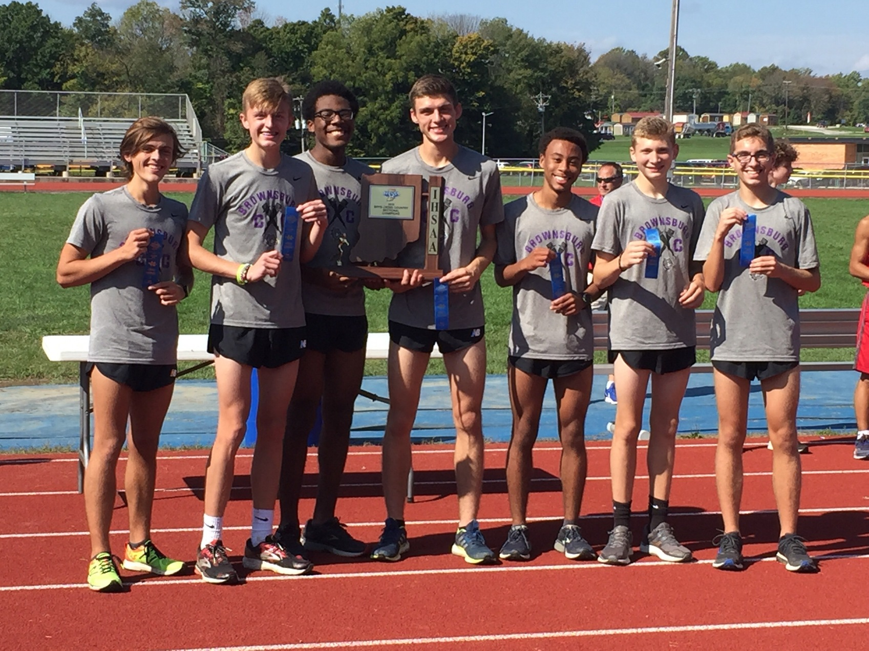 Boys XC Claims Sectional Title