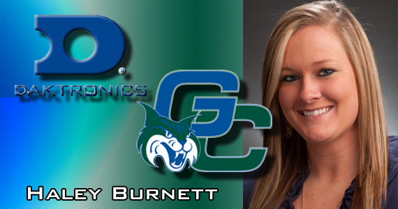 GC Softball's Burnett Named to Daktronics All-Southeast Region First Team