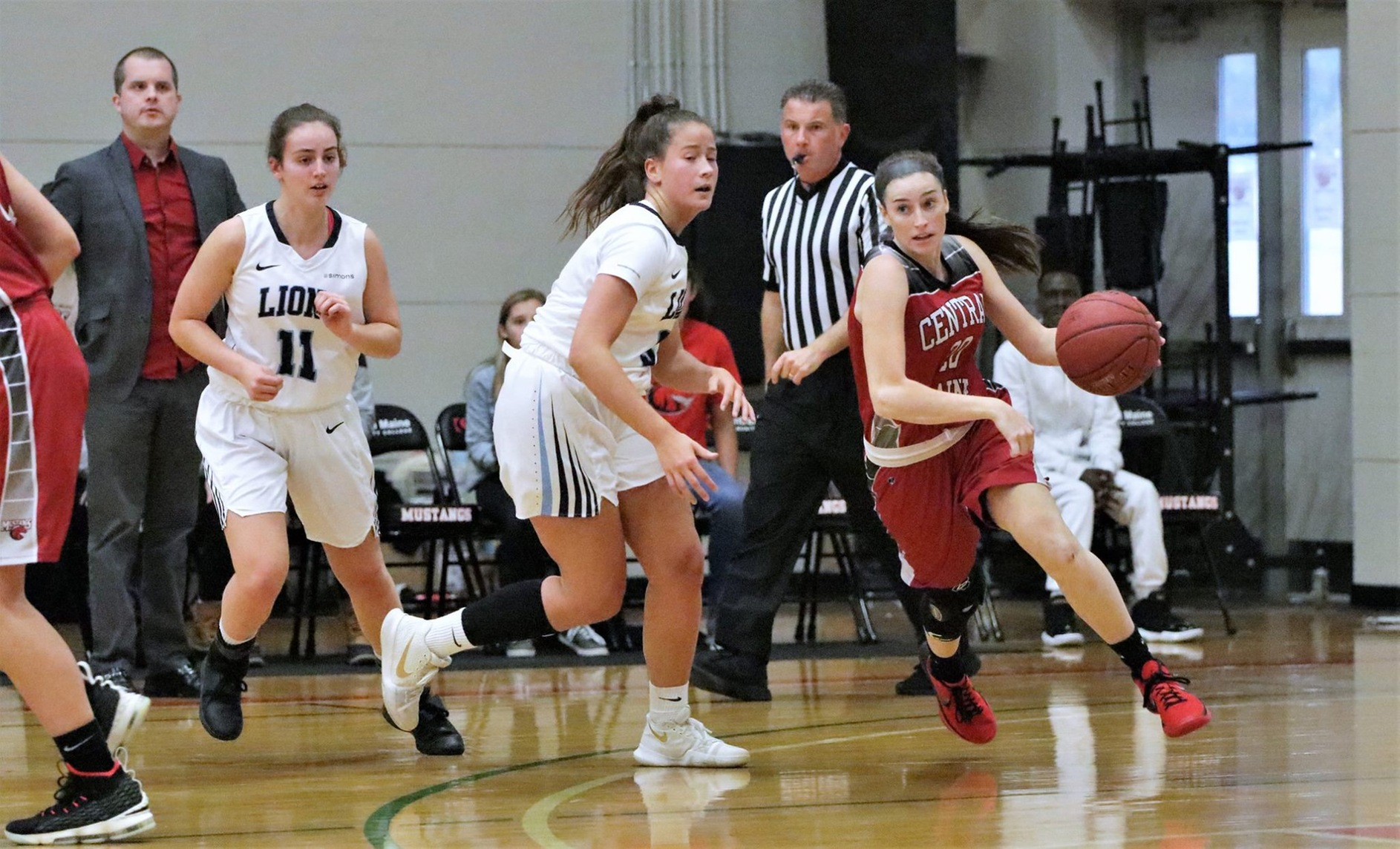 Lady Mustangs slay Knights in conference opener