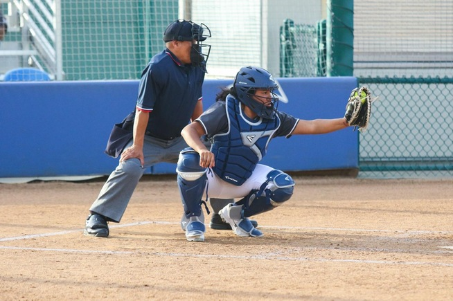 File Photo: Briana Lopez hit a grand slam to pace the Falcons
