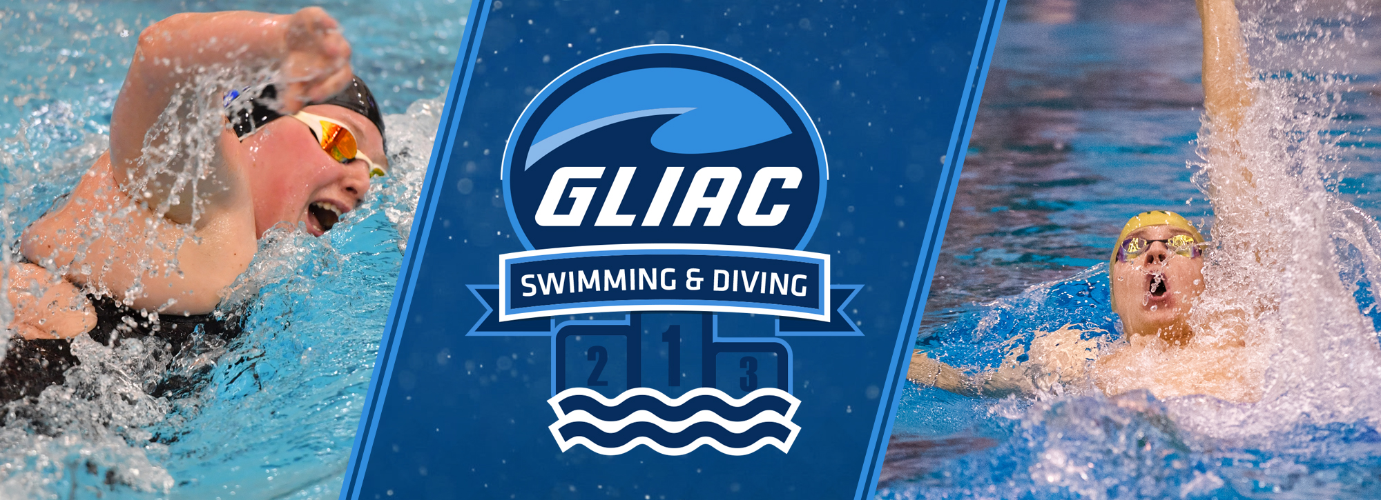 GVSU's Goebel and WSU's Drobnych claim Week 11 swimming and diving honors