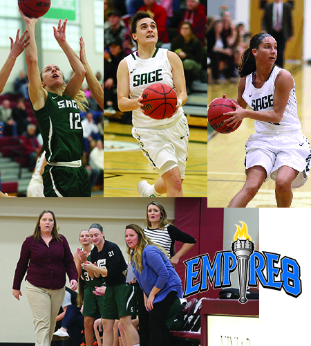 Empire 8 Honors Sage Women's Basketball Team and Players
