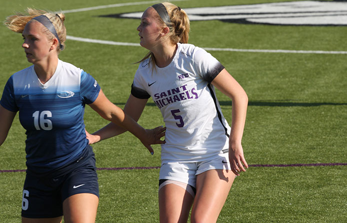 Women's Soccer Yields 89th-Minute Tally in 1-0 Loss to Saint Anselm