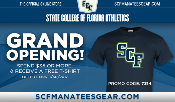 Get Your Manatees Gear!  Grand Opening!