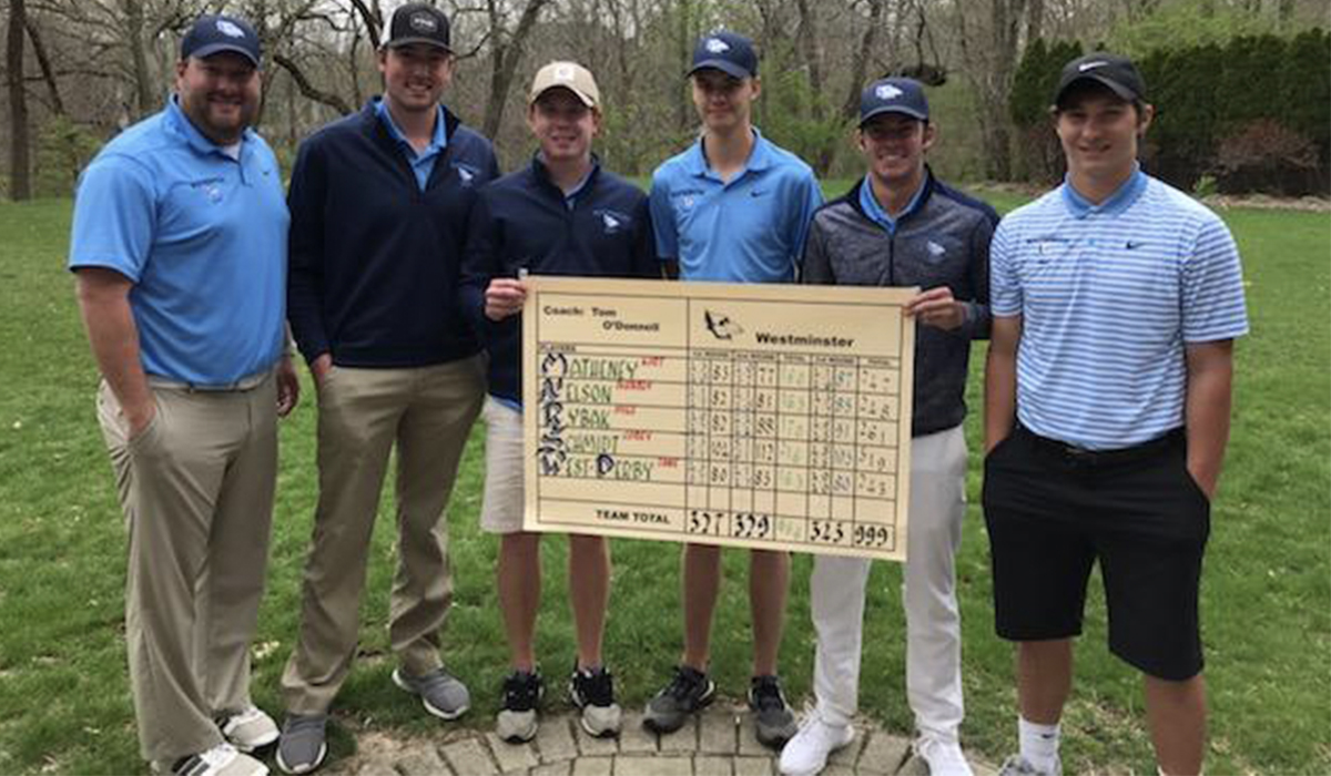 Westminster Men's Golf Notches Best SLIAC Finish Since 1997