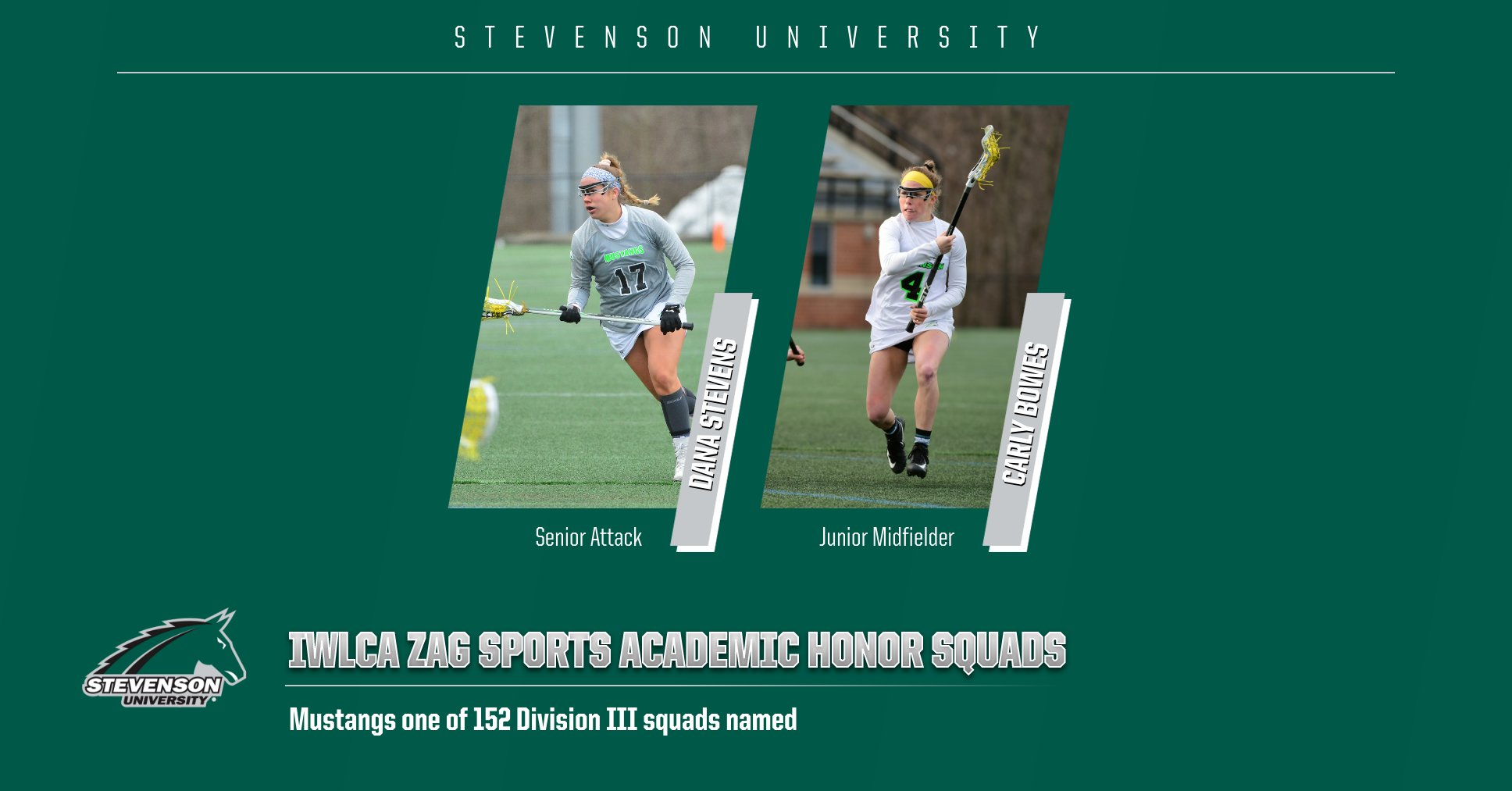 Mustangs, Two Student-Athletes Earn IWLCA Academic Accolades