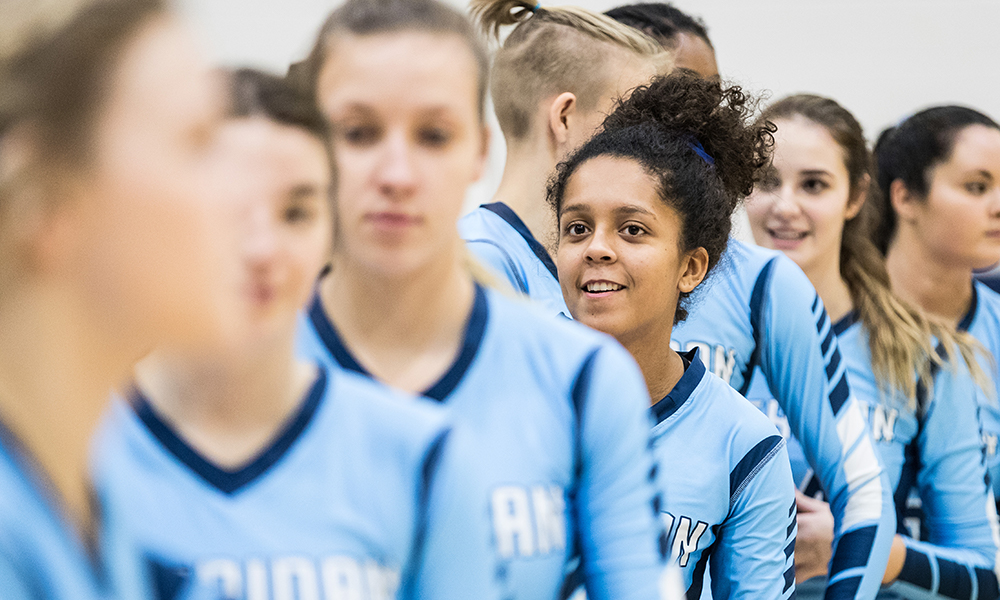 Women's volleyball set for QF clash with Humber
