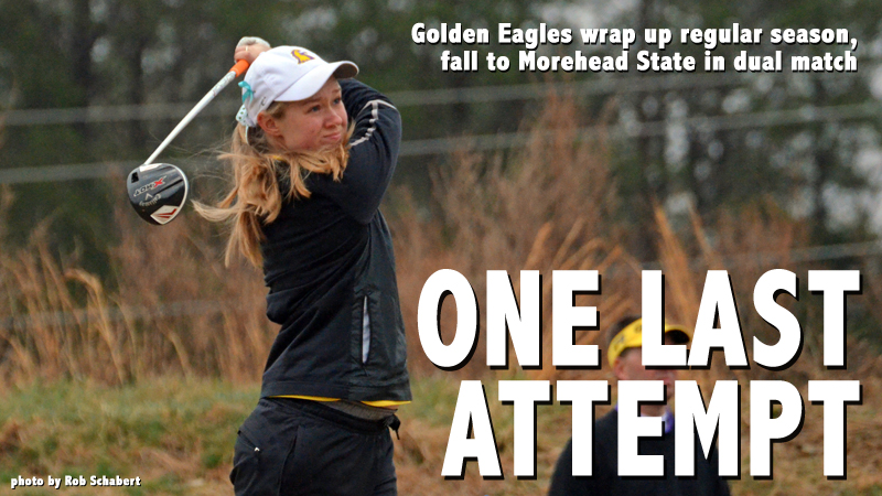 Golden Eagles finish regular season after dual match at Morehead State