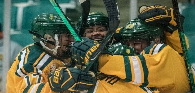 Clarkson Opens Season with Comeback Road Win