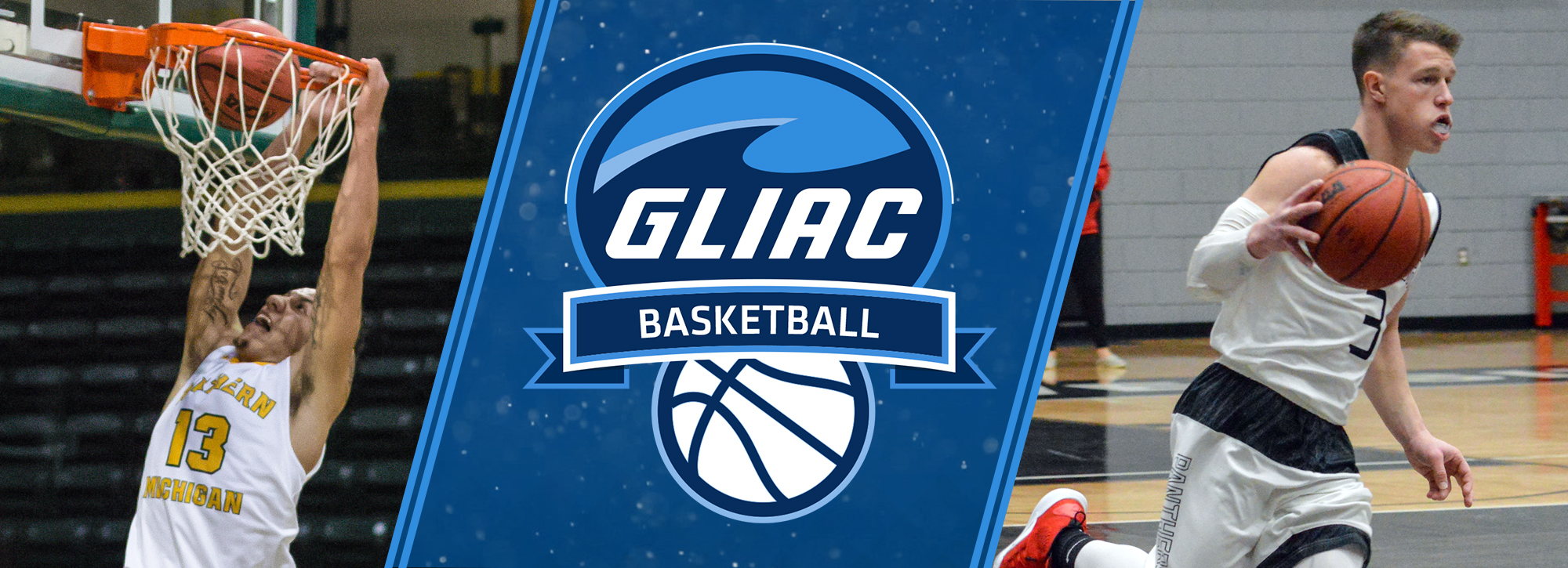 Northern Michigan's Johnson and Davenport's Hudson are named GLIAC Men's Basketball Players of the Week