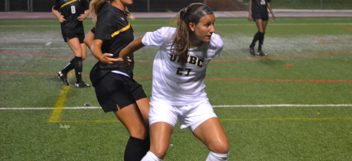 Golden Goal in 98th Minute Lifts Robert Morris over UMBC, 2-1